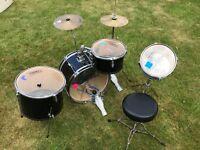 Junior 7 piece drum kit 'First Act'