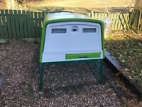 Eglu Cube Chicken Coop (New Model) plus fox proof run. Immaculate Condition