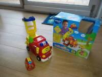 Vtech fire engine set toy