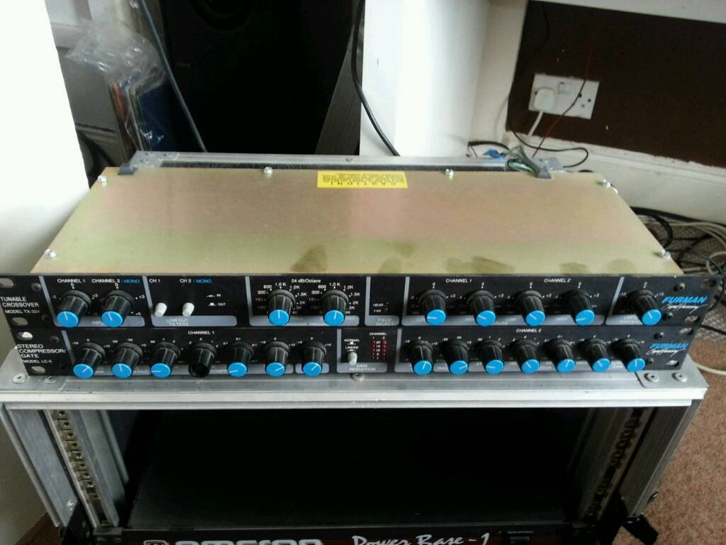 Furman Stereo Compressor/Gate and Crossover