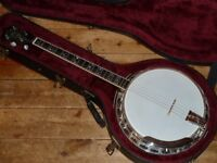 Deering Maple Blossom professional Tenor banjo 1991 made in USA