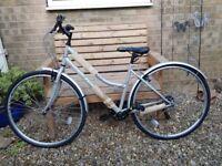 New Falcon Swift Women's Hybrid Bike 19 inch frame
