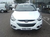 2011 61 HYUNDAI IX35 2.0 STYLE CRDI 5d 134 BHP **** GUARANTEED FINANCE **** PART EX WELCOME ***