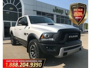 2016 Ram 1500 Rebel| 4X4| Low KM| Sunroof| Leather/Cloth