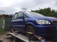 Vauxhall Zafira Breaking For Spares