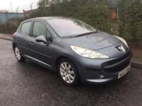 ***PEUGEOT 207 1.6 HDI ECONOMICAL FULL SERV HIST PAN ROOF CHEAP TAX ALL EXTRAS*** £2190! *WARRANTIES