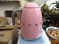 Brand New Pink Smeg Electric Kettle