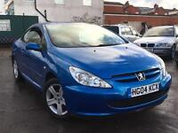 Peugeot 306 CC 2.0 2004 + FULL SERVICE HISTORY +SUPERB CONDITION