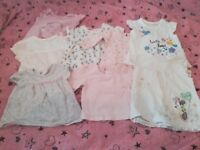 Bundle of pretty baby girl clothes Newborn to 6 Months