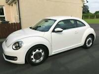 2012 VW Beetle Design, white, 1.1 petrol, automatic