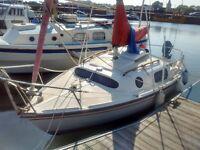Leisure 17 Bilge Keel Yacht