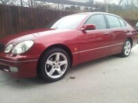220 BHP TRIPTRONIC LEXUS GS 300 CRUISER WITH 18 SERVICE STAMPS! FULLY LOADED AND £500 MUSIC SYSTEM