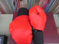 BOXING GLOVES ***NEW*** Red & Black