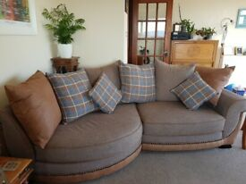 2 large settees