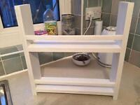 Large spice rack - hand crafted