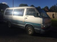 TOYOTA HIACE OLD SUPER CUSTOM (F)