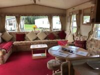 Static caravan for private sale at Tattershall Lakes Country Park near Skegness beach Lincolnshire