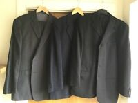 3 men's suits, all ex condition only worn once or twice. £25 each or £60 for all 3
