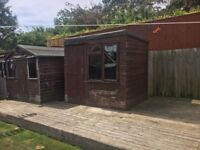 6ft x 8ft Pent Garden Shed