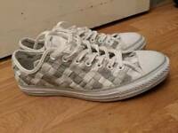 Unisex converse trainers size 9.5