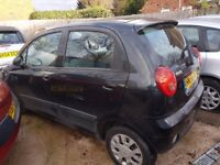 CHEVROLET MATIZ 1,0 PETROL56 REG 5 DOOR LOW MILES LADY OWNED COME WITH 12 MONTHS MOT MAY P\X