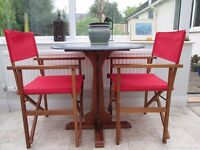 Arts and Crafts Oak Dining Table, small