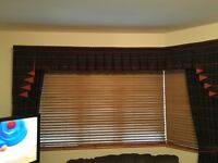Designer Curtains and Living room accessories all to match