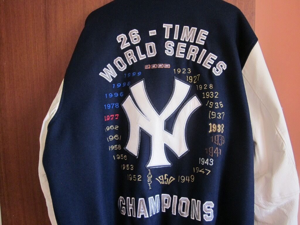 Mint Condition Extremely Rare New York Yankees Championship Jacket
