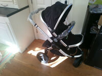Brand New iCandy Peach Jogger (All Terrain) Stroller/Pushchair in Blackberry