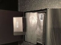 Black Leather Hugo Boss Wallet