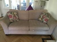 Two sofas from Dicks Barn £150 each, £250 both
