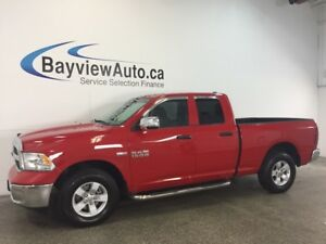 2017 Dodge RAM 1500 ST- HEMI! QUAD! ALLOYS! TOW/HAUL! 3000 KM!