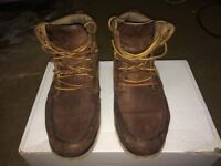 Size 8 Brown Polo Ralph Lauren Leather boots - Good condition