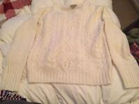 2 x Ladies knitted jumpers size 12
