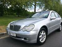 2001/51 REG MERCEDES C180 ELEGANCE AUTOMATIC ** LOW MILES ** £1750.00 **