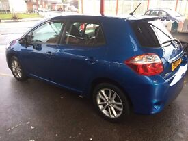 Toyota Auris 1.33 VVT-i TR 5 DOOR, nice and low mileage car