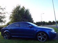 12 MONTH WARRANTY! AUDI A4 TDi SPORT 130BHP GMBH S-LINE BLACK Edition Low Mileage- FSH- STUNNING Car