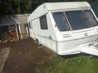 Fleetwood countryside 5/6 caravan