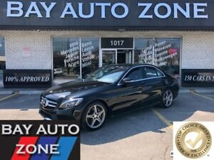 2015 Mercedes-Benz C-Class C300 4MATIC+NAVIGATION+REAR VIEW CAME