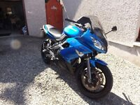 motorcycle immaculate,hardly used,garaged,ideal mid range bike