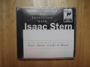 """FS: 1995 Sony """"Isaac Stern: A Life In Music"""" (Interview) Promo"""