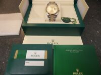 Rolex Datejust 126333 New 41MM Model Steel and 18 Carat yellow Gold 100% Genuine