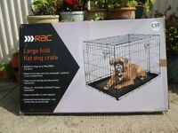 Large dog cage ~ as new