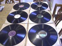 78 Records x 6. Vintage, Retro. Antique. 12''. Sonata no.3 G Major By Rene Le Ron & Kathleen Long..
