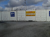 Self Storage Containers FROM £20 / week. CCTV monitored 24/7, forklift truck, domestic & business