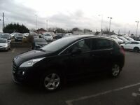 2011 11 PEUGEOT 3008 1.6 SR HDI 5D 112 BHP **** GUARANTEED FINANCE **** PART EX WELCOME