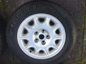 "Jaguar XJ alloy wheels 16"", 2002 perfect condition"