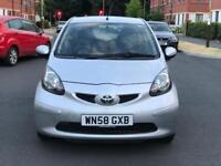 AYGO PLANTINUM VVTI 1.0 5 DOOR HATCHBACK PETROL £20 ROAD TAX PER YEAR