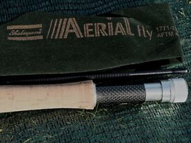 Shakespeare Aerial Fly Rod Carbon 2.1m 2 piece # 4/5 A Classic Brook Fishing Rod