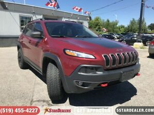 2016 Jeep Cherokee Trailhawk | NAV | LEATHER | PANO ROOF | CAM